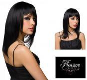 Pleasure Wigs 'Steph' Long Black Fashion Wig (E22705)